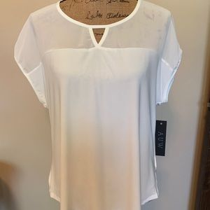 Lovely white blouse-NWT!